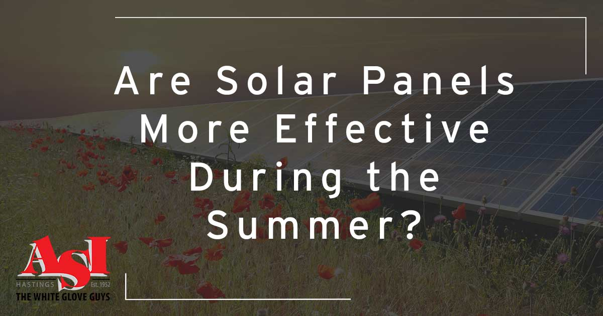 Are Solar Panels More Effective During the Summer