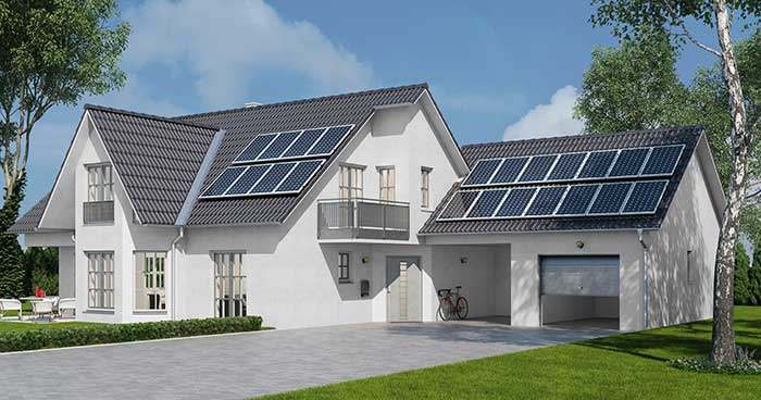 How Many Solar Panels Do I Need? It depends on where you home is.