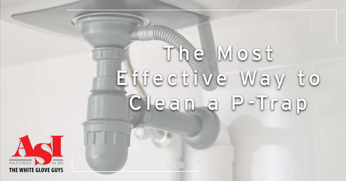 The Most Effective Way to Clean a P-Trap.
